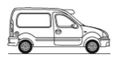 Viani eco rental. Furgón TªC. 1 - 2 m³ vehiculo frigorifico