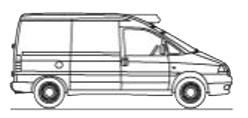 Viani eco rental. Furgón TªC. 3 - 5 m³ vehiculo frigorifico