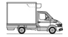 Viani eco rental. Furgón TªC. 12 - 14 m³ vehiculo frigorifico