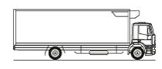 Viani eco rental. Furgón TªC. 18 - 25 Tm vehiculo frigorifico